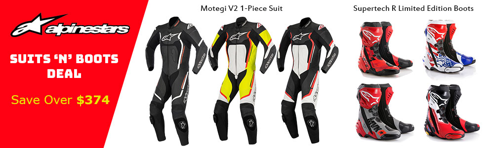 Alpinestars Suits 'n' Boots Deal