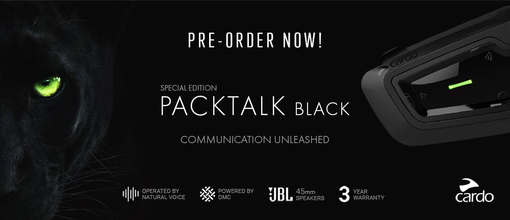 Cardo Packtalk Black Special Edition