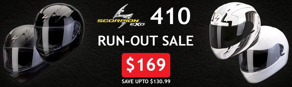 scorpion exo 410 sale