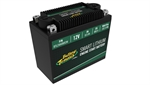 Deltran Smart BMS Lithium Battery, 12V 8.0AH, 480CCA-accessories and tools-Motomail - New Zealands Motorcycle Superstore