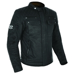 Oxford Heritage Hardy Wax Jacket-mens road gear-Motomail - New Zealands Motorcycle Superstore