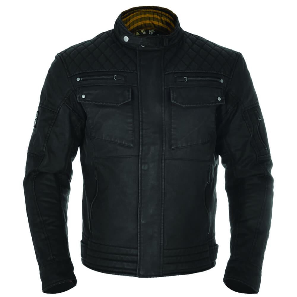 Oxford Heritage Hardy Wax Jacket Mens Road Gear Jackets
