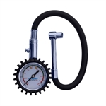 Oxford Anologue Tyre Pressure Gauge 0-60 PSI-accessories and tools-Motomail - New Zealands Motorcycle Superstore
