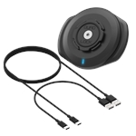 Quad Lock Weatherproof Wireless Charging Head-accessories and tools-Motomail - New Zealands Motorcycle Superstore