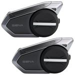 Sena 50S Mesh Intercom Bluetooth Headset - Dual Pack-electronics & mounts-Motomail - New Zealands Motorcycle Superstore