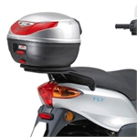 GIVI 'SR104' Top Box Rack - Fly 150 04 -12-piaggio fly 150-Motomail - New Zealands Motorcycle Superstore