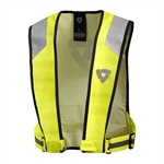 REV'IT! 'Connector HV' Vest-high visibility-Motomail - New Zealands Motorcycle Superstore