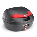 Givi E340 Monolock 34L Top Box-luggage-Motomail - New Zealands Motorcycle Superstore