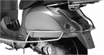 Vespa GTS Chrome Rear Side Bars-vespa gts300-Motomail - New Zealands Motorcycle Superstore