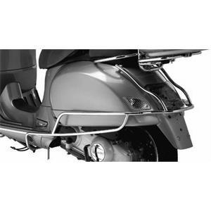 Vespa GTS Chrome Rear Side Bars