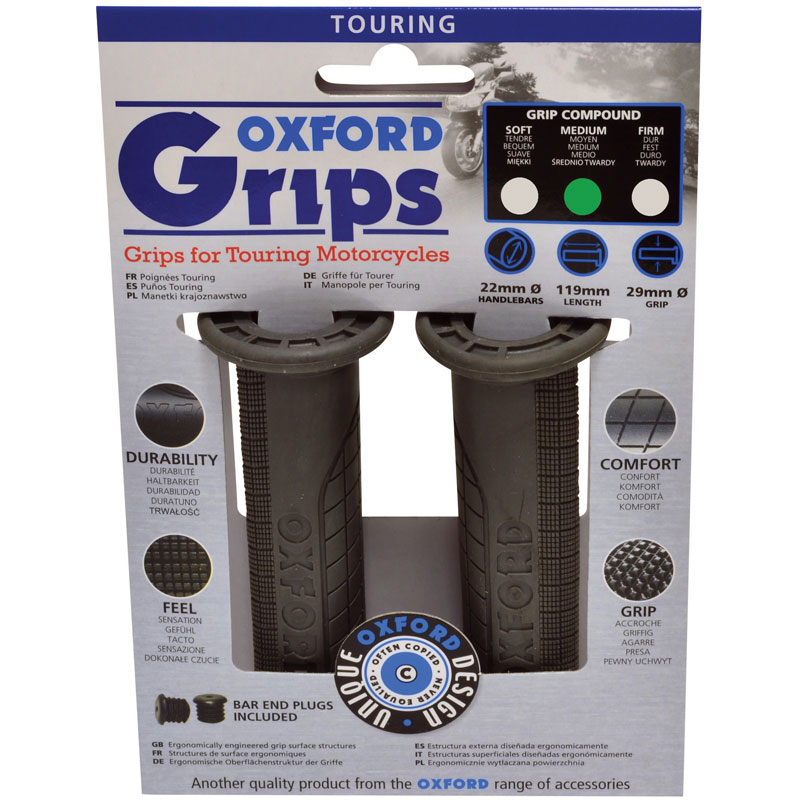 Oxford Touring Grips - Accessories and Tools-Bike Accessories ...