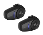 Sena 10S Bluetooth Intercom - Dual Pack-intercoms & gps-Motomail - New Zealands Motorcycle Superstore