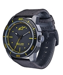 Alpinestars Tech Watch 3H Black/Yellow w/ Nylon Strap-latest arrivals-Motomail - New Zealands Motorcycle Superstore