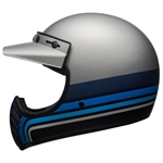 Bell Moto-3 Stripes Helmet-latest arrivals-Motomail - New Zealands Motorcycle Superstore