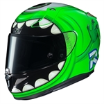 HJC RPHA 11 Mike Wazowski Limited Edition Helmet-helmets-Motomail - New Zealands Motorcycle Superstore